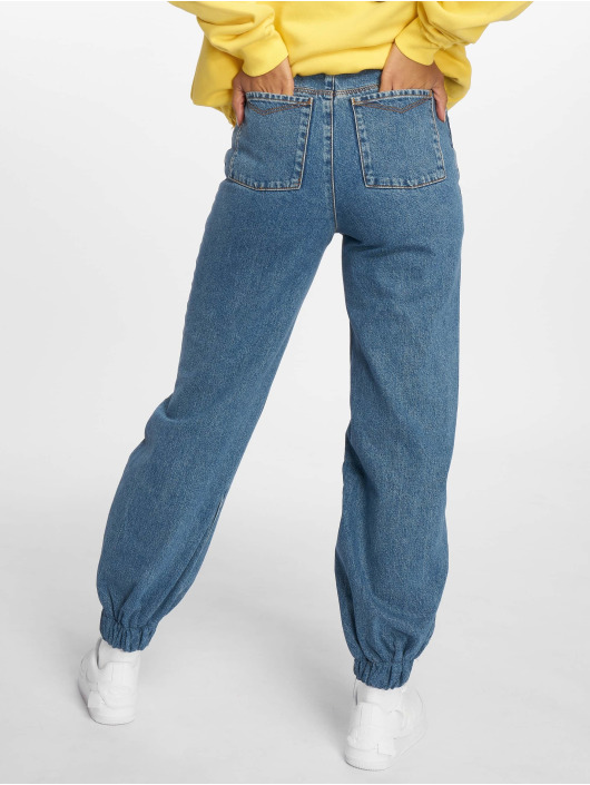 The Ragged Priest High Waisted Jeans Jog On blue