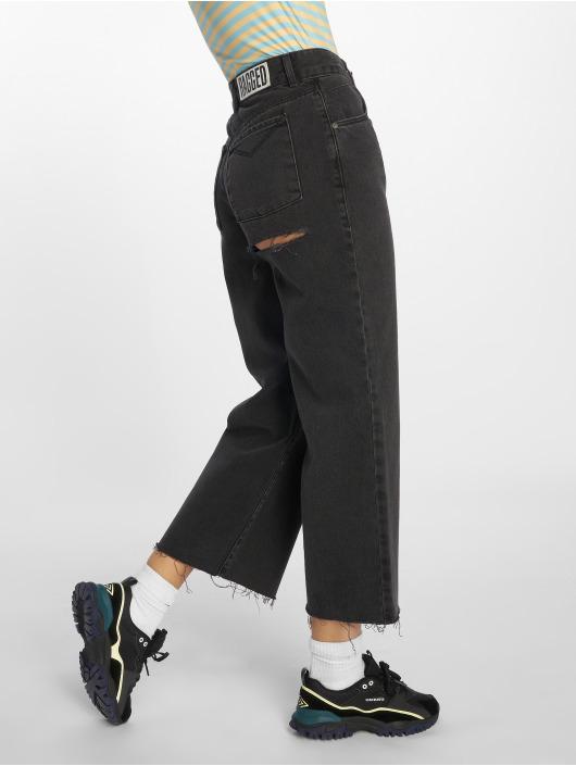 The Ragged Priest High Waisted Jeans Graze Butt Cut gray