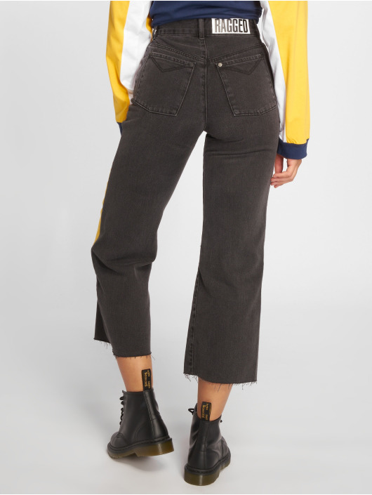 The Ragged Priest High Waisted Jeans Scrap grey