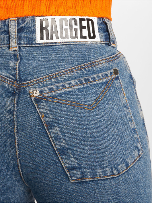 The Ragged Priest Jean taille haute Darling Printed bleu