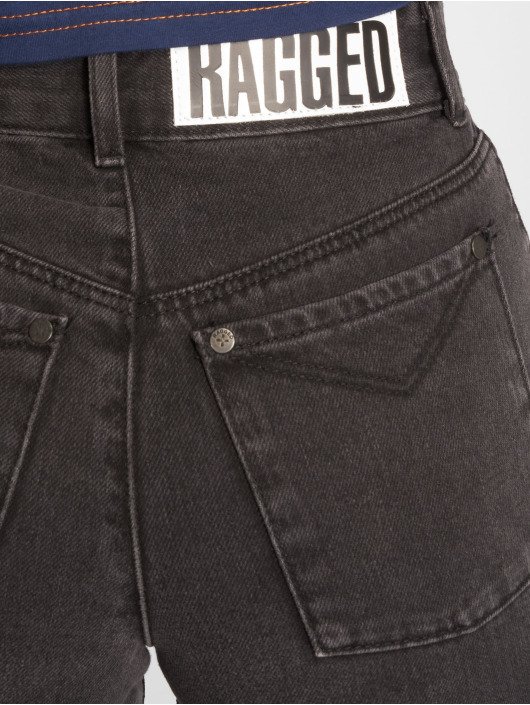 The Ragged Priest Jeans de cintura alta Scrap gris