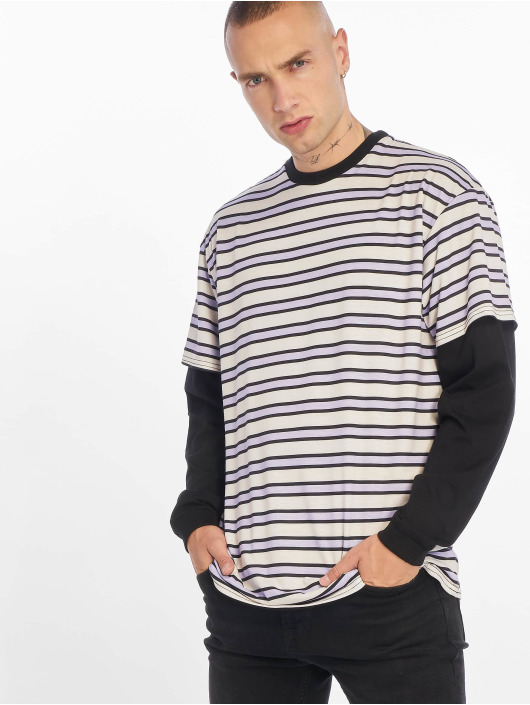 The Ragged Priest Langermet Ribbed Cotton Jersey lilla