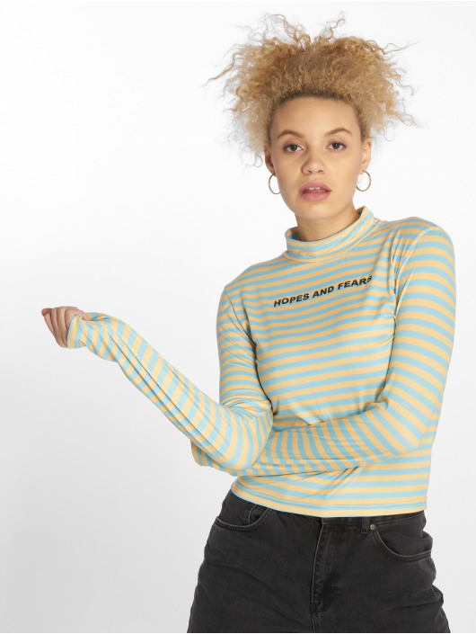The Ragged Priest Longsleeve Troubled Cropped gelb