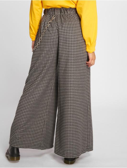The Ragged Priest Pantalon chino Distance Super Wide gris