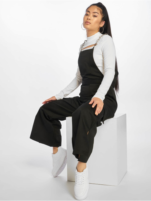 The Ragged Priest Pantalones con peto Cropped negro