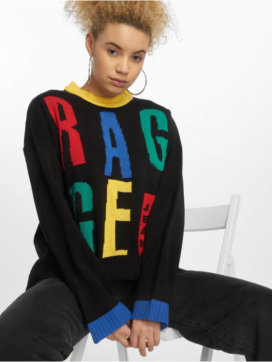 The Ragged Priest Pullover Slogan black
