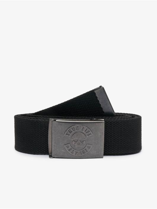 Thug Life Belt I am Street black
