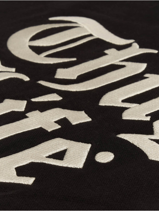 Thug Life Bluzy z kapturem Ssiv czarny