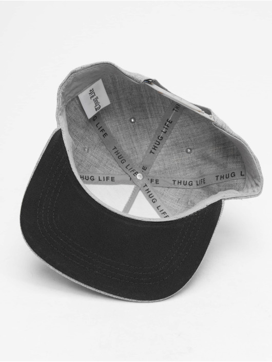 Thug Life Casquette Snapback & Strapback Young gris