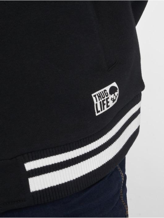 Thug Life College Jacke International schwarz