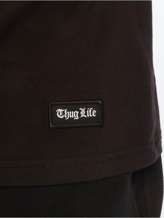 Thug Life Débardeur B.Distress noir