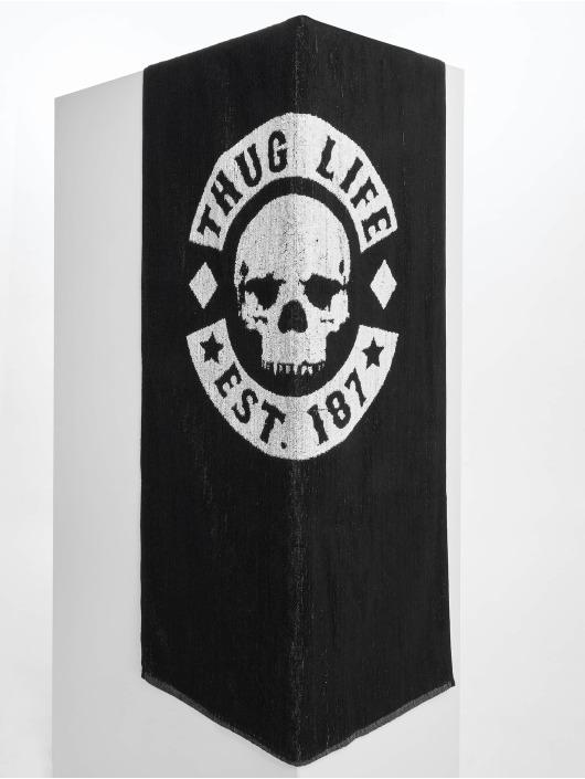 Thug Life Handtuch Logo schwarz