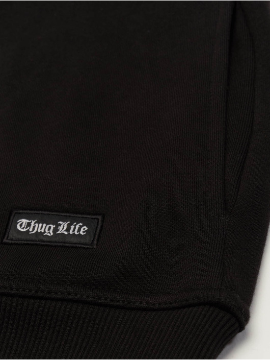 Thug Life Hoodie Ssiv black
