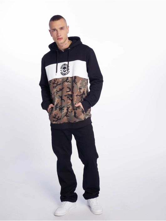 Thug Life Hoodie Lion camouflage