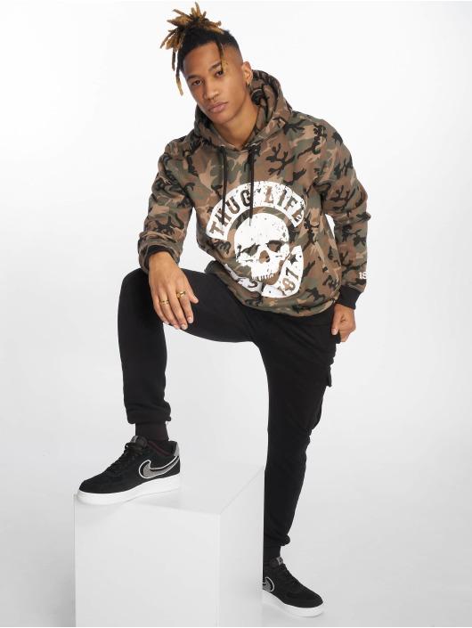 Thug Life Hoodie B.Distress camouflage
