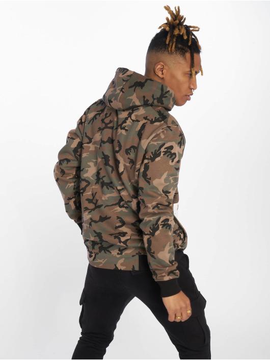 Thug Life Hoody B.Distress camouflage