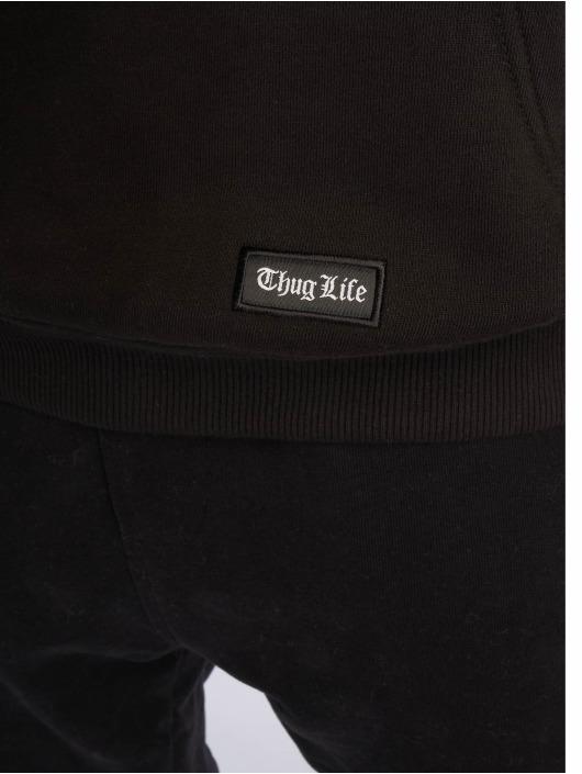 Thug Life Hoody Macke grau