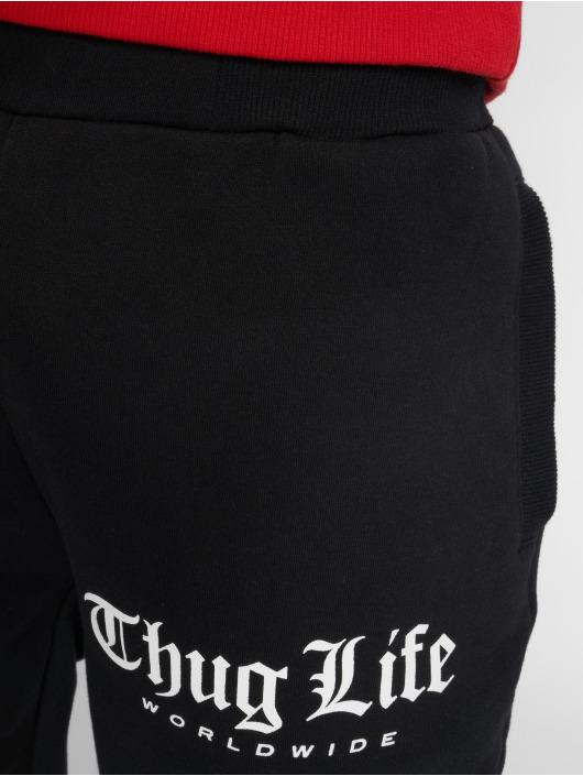 Thug Life Jogginghose Digital schwarz