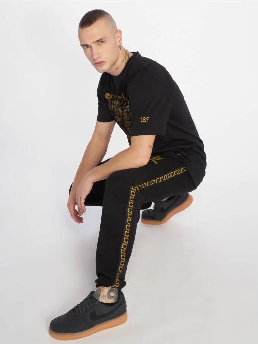 Thug Life Jogginghose Dende schwarz