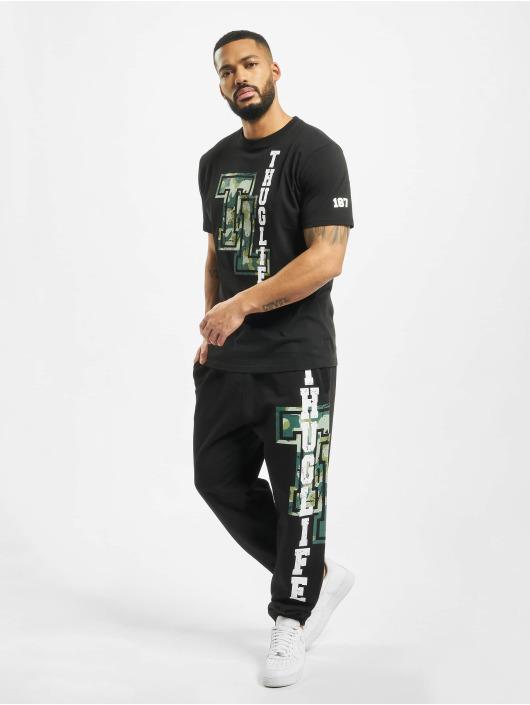 Thug Life Jogginghose Under Pressure schwarz