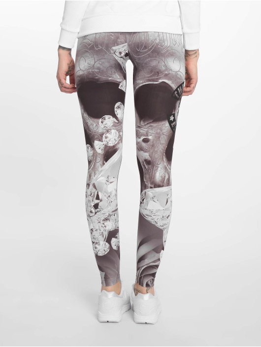 Thug Life Leggings/Treggings Monroses grå