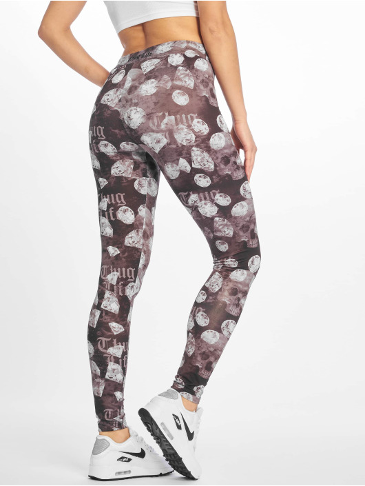 Thug Life Leggings/Treggings Dia svart