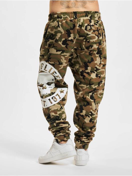 Thug Life Pantalón deportivo B.Camo camuflaje