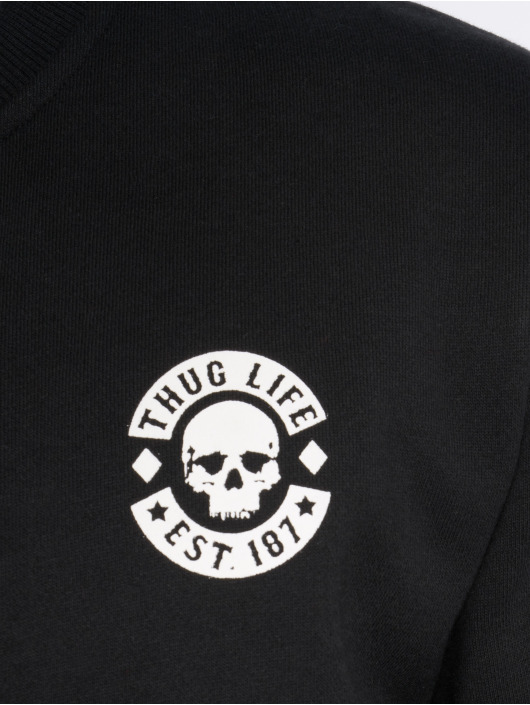 Thug Life Pullover Digital black