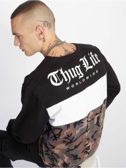 Thug Life Pullover Lion camouflage
