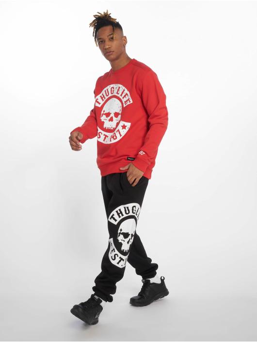 Thug Life Pullover Kuza rot