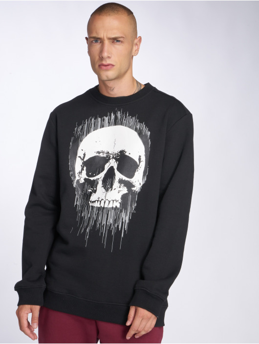 Thug Life Pullover Dives schwarz