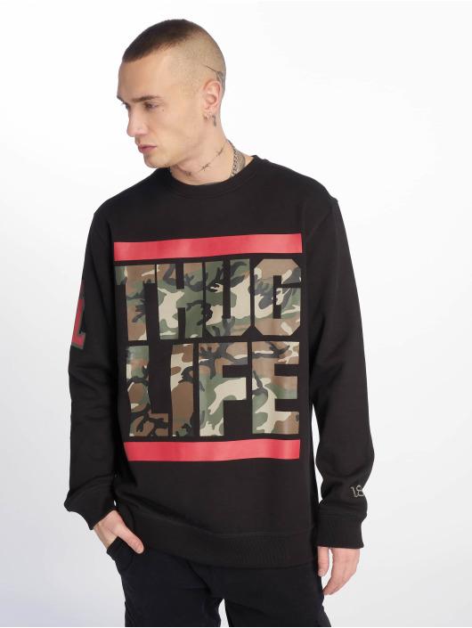 Thug Life Pullover B.Fight schwarz