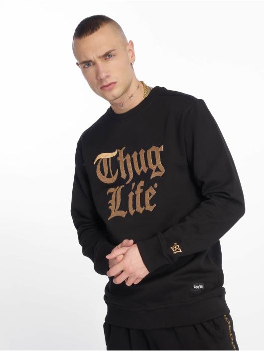 Thug Life Pullover Yung schwarz