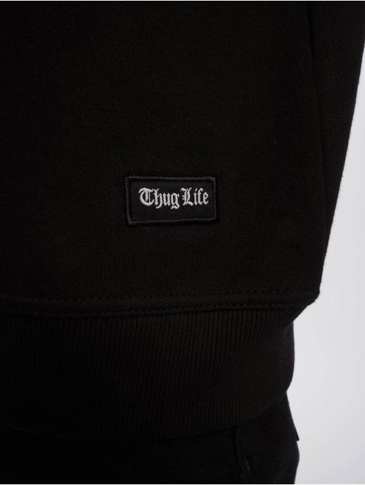 Thug Life Pulóvre Hurn èierna