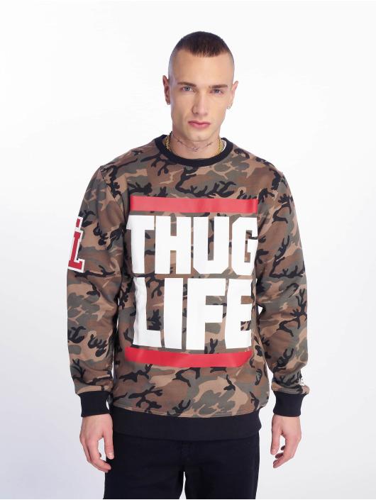 Thug Life Pulóvre B.Fight maskáèová