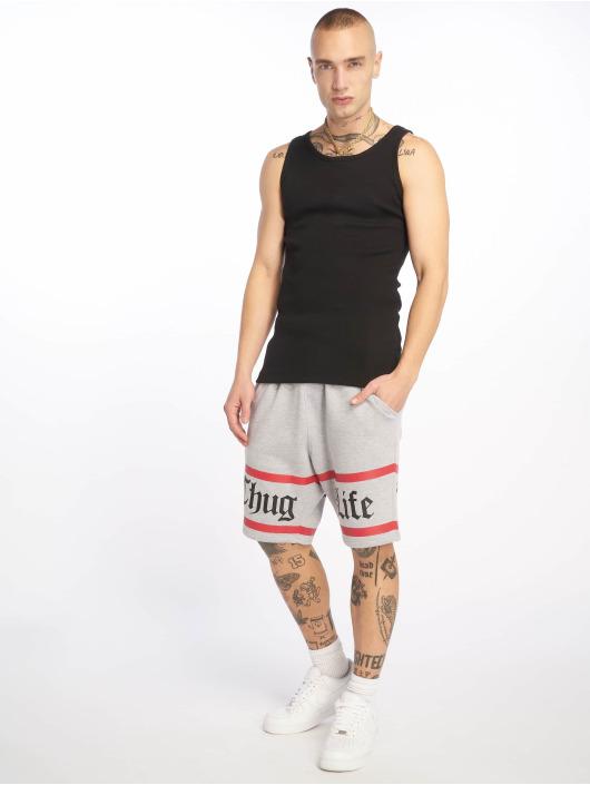 Thug Life Shorts Brick grau