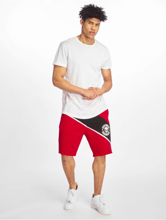 Thug Life Shorts Lion red
