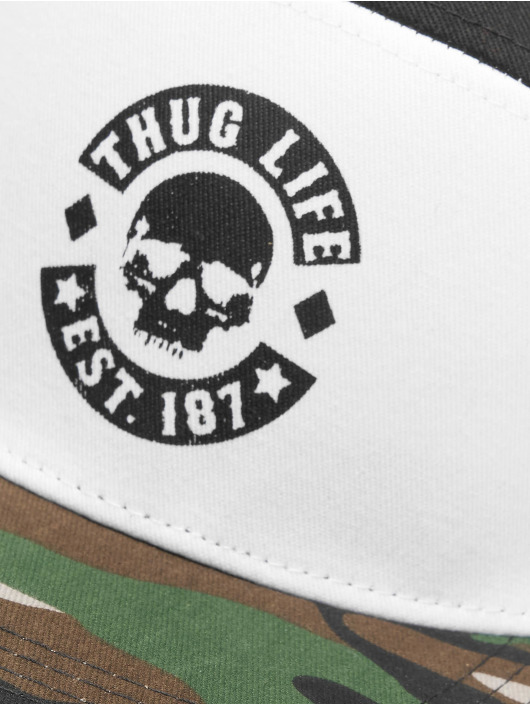 Thug Life Snapback Beast èierna