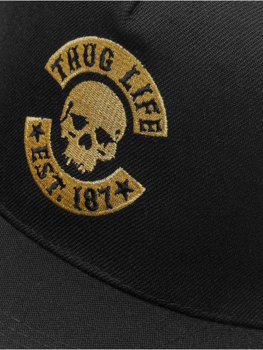 Thug Life Snapback Cap B.Golden black
