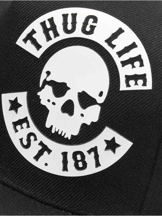 Thug Life Snapback Cap Young nero