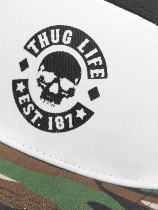 Thug Life Snapback Cap Beast schwarz