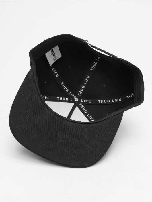 Thug Life Snapback Cap B.Golden schwarz