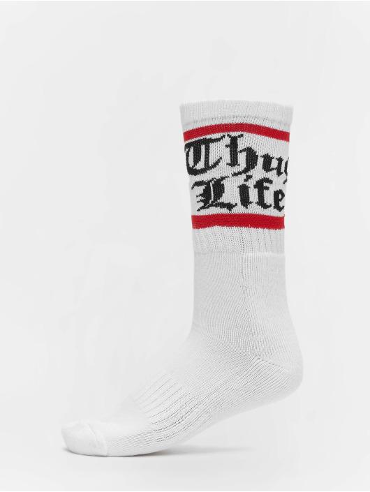 Thug Life Socks Bo double white