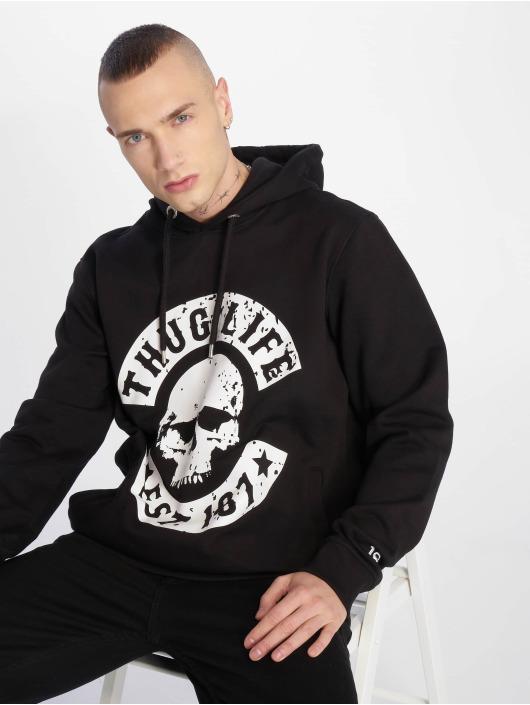 Thug Life Sweat capuche B.Distress noir