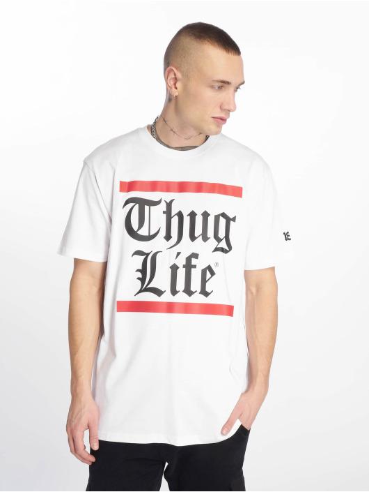 Thug Life T-Shirt B.Gothic blanc