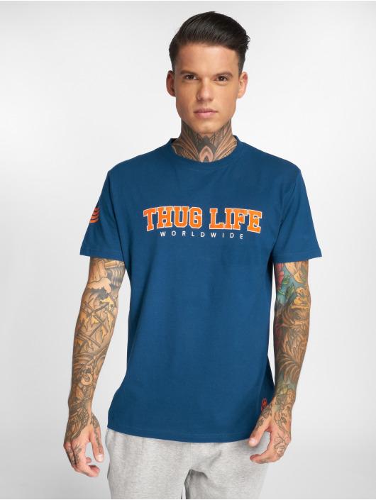 Thug Life T-Shirt Blazer blau