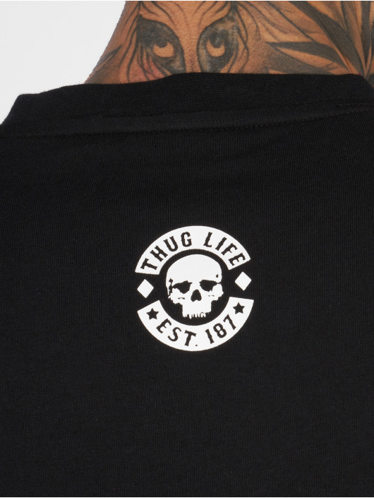 Thug Life T-Shirt Digital schwarz