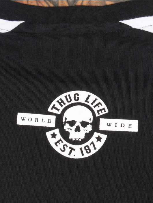 Thug Life T-Shirt Python schwarz