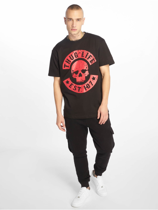 Thug Life T-Shirt B.Distress schwarz