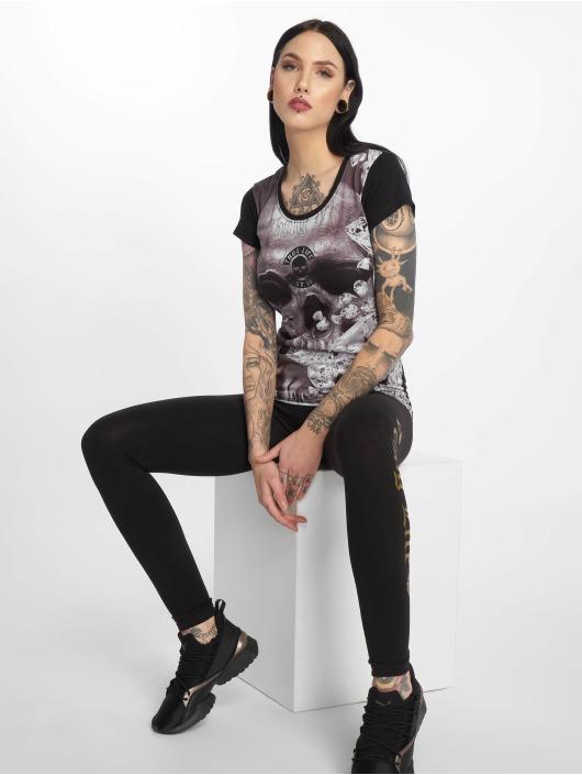 Thug Life T-Shirt Kim schwarz
